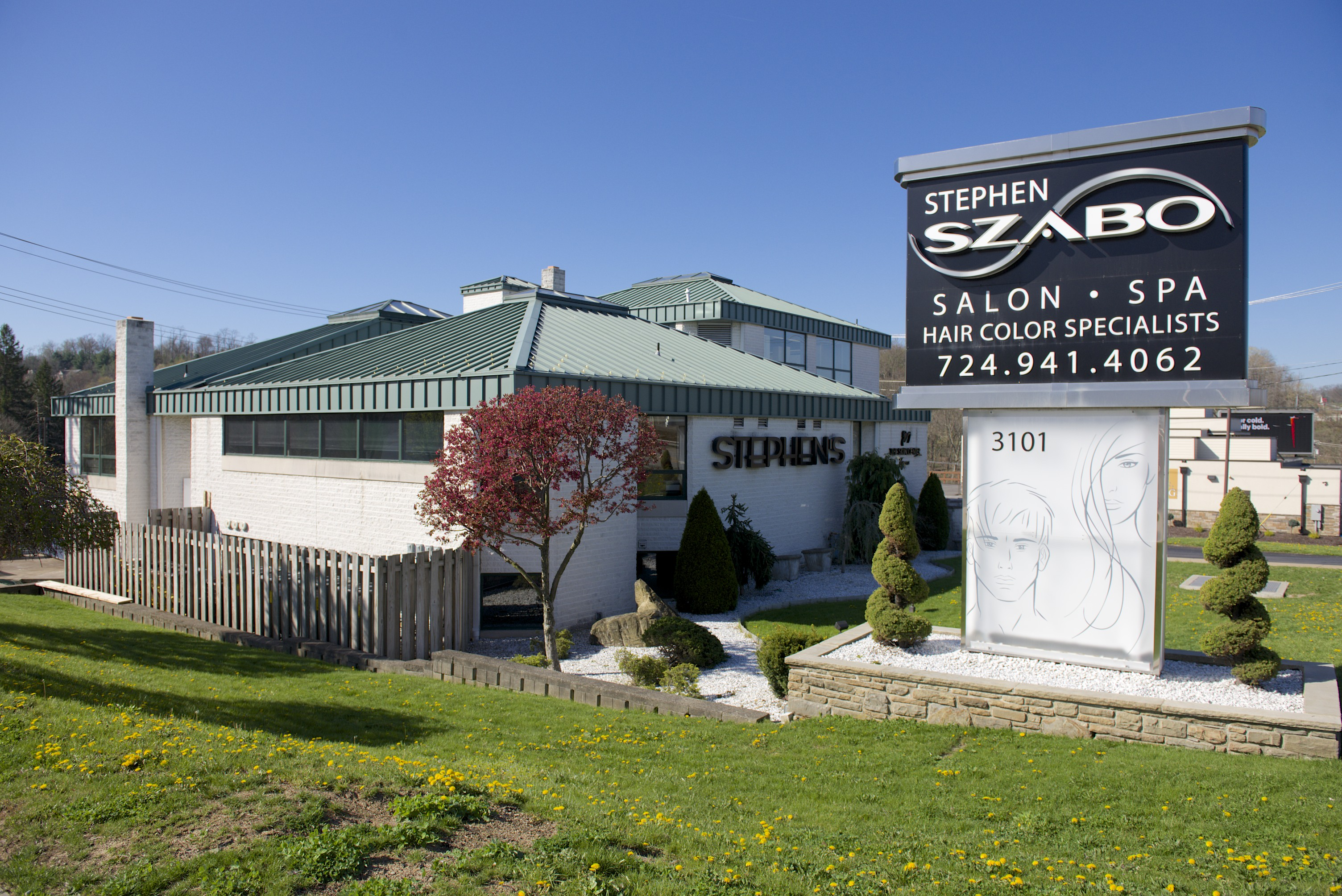 Stephen Szabo Salon McMurray Location